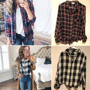2 for💲 Plaid Shirts 💠